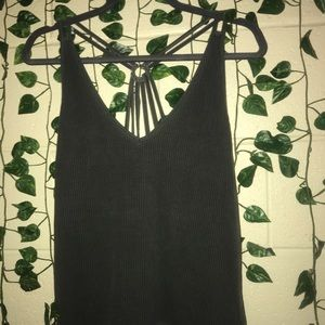 American Eagle Outfitters Tops - American Eagle Ribbed Tank Top with strappy back